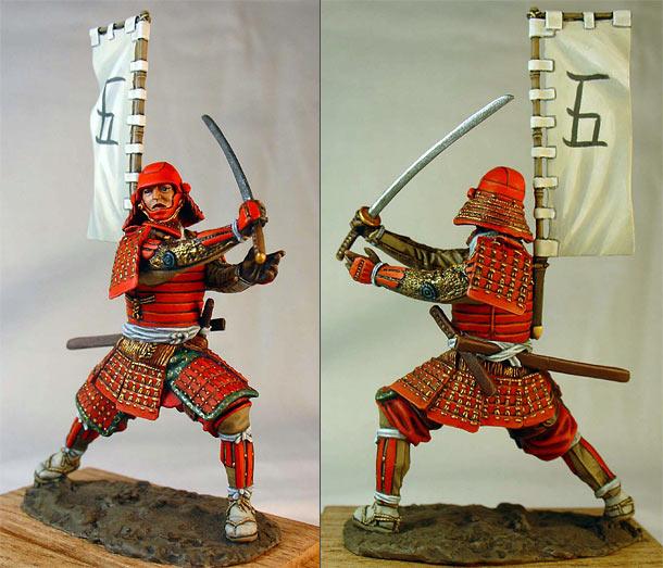 Figures: Samurai, 1568-1600