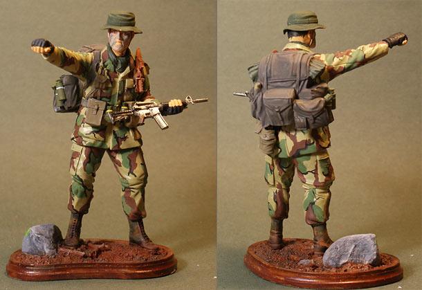 Figures: LRRP trooper