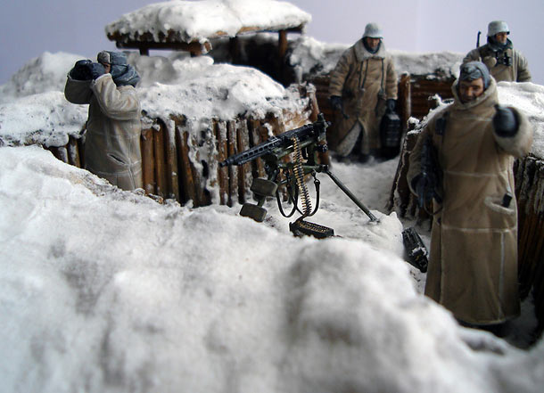 Dioramas and Vignettes: Frozen silence