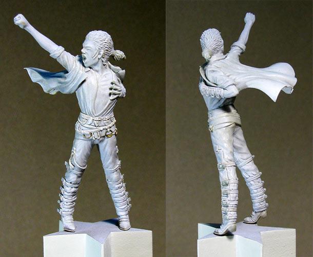 Sculpture: King of Pop
