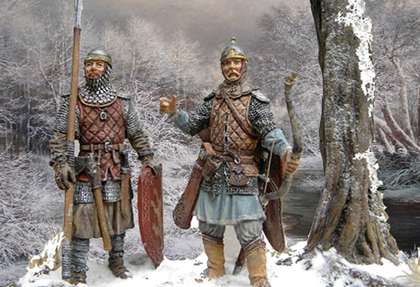 Dioramas and Vignettes: Russian warriors
