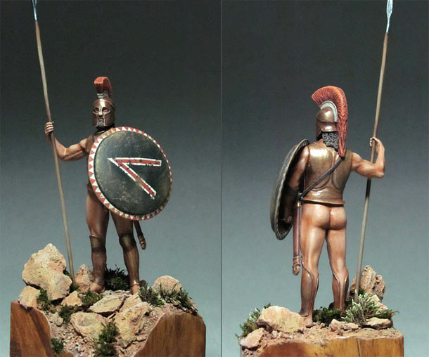 Figures: Spartan Hero