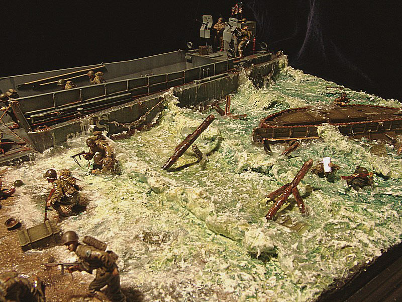Dioramas and Vignettes: Normandy. D-day, photo #2