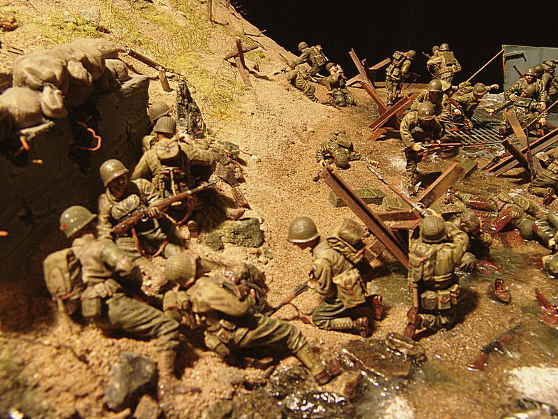 Photo 7 - Normandy. D-day | Dioramas and Vignettes ...