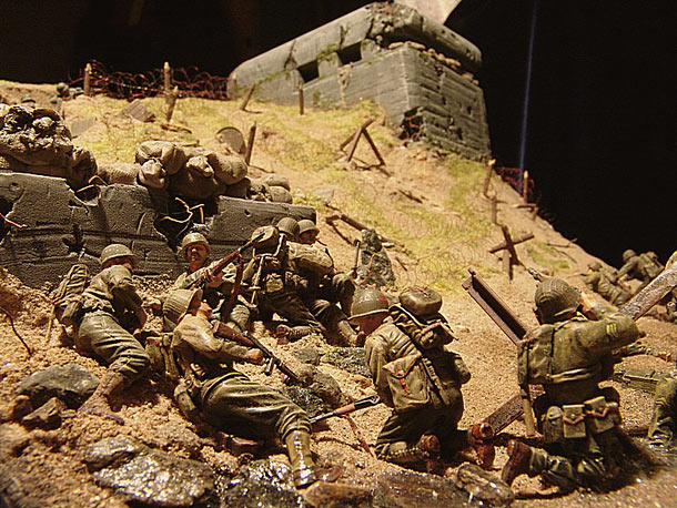 Dioramas and Vignettes: Normandy. D-day