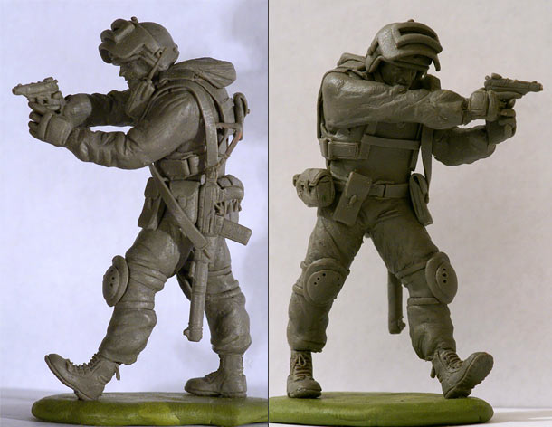 Sculpture: Federal Security Service trooper