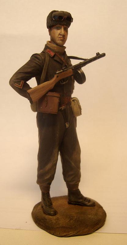 Figures: Captain, Soviet mountain troops, photo #1