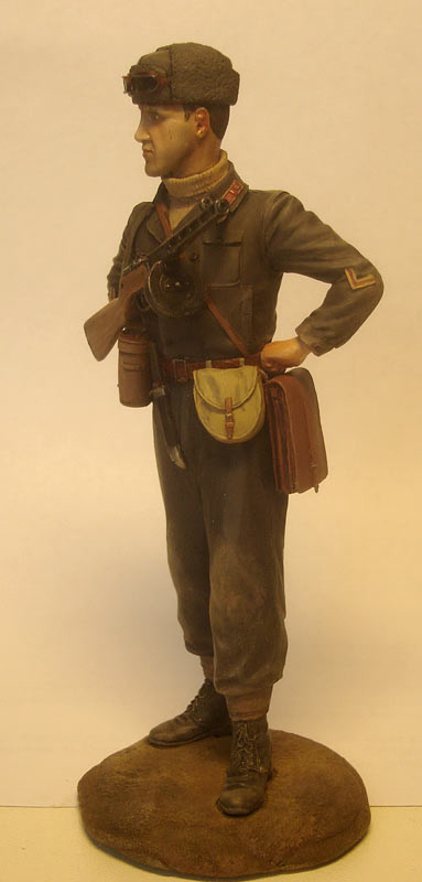 Figures: Captain, Soviet mountain troops, photo #2