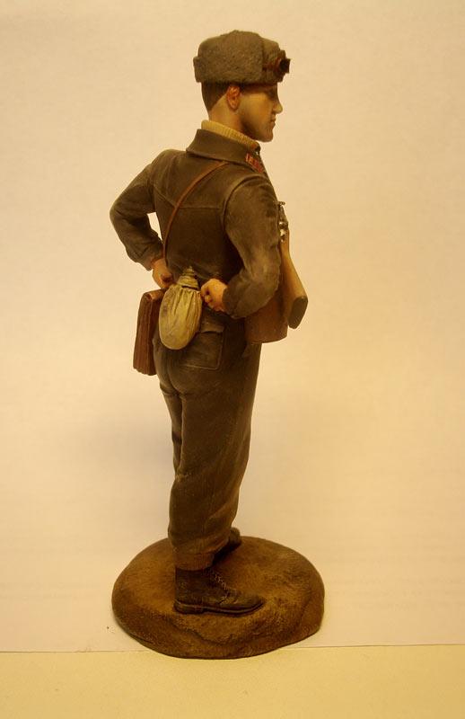 Figures: Captain, Soviet mountain troops, photo #4