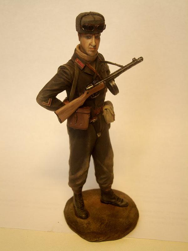 Figures: Captain, Soviet mountain troops, photo #5