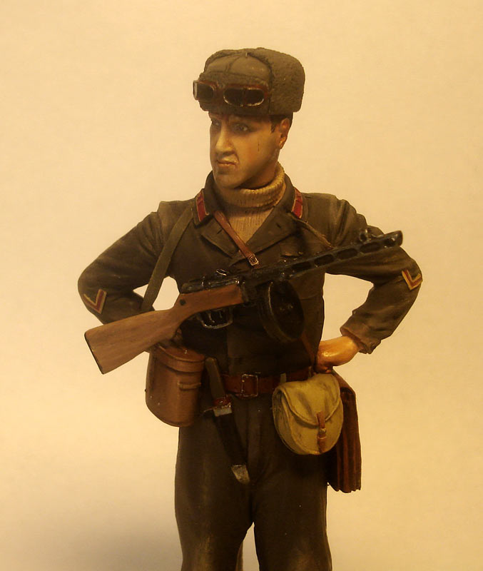 Figures: Captain, Soviet mountain troops, photo #6