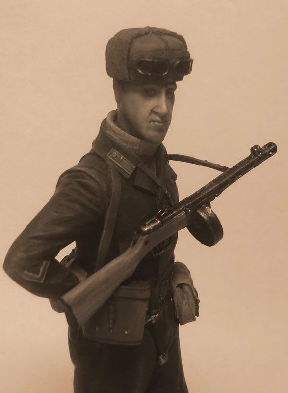 Figures: Captain, Soviet mountain troops, photo #8