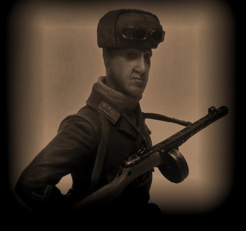 Figures: Captain, Soviet mountain troops, photo #9