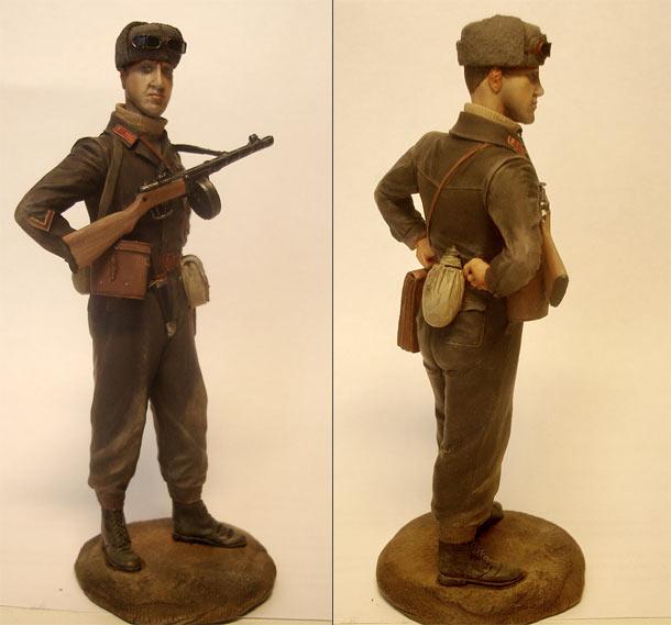 Figures: Captain, Soviet mountain troops