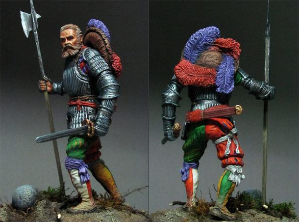 Figures: Landsknechts captain