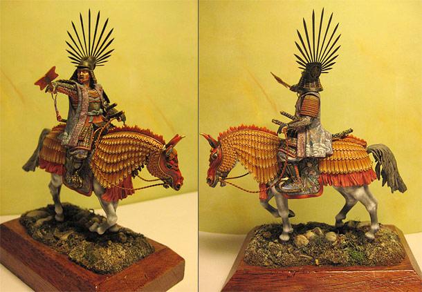 Figures: Japanese Emperor, XVI century