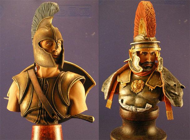 Figures: Centurion and Achilles