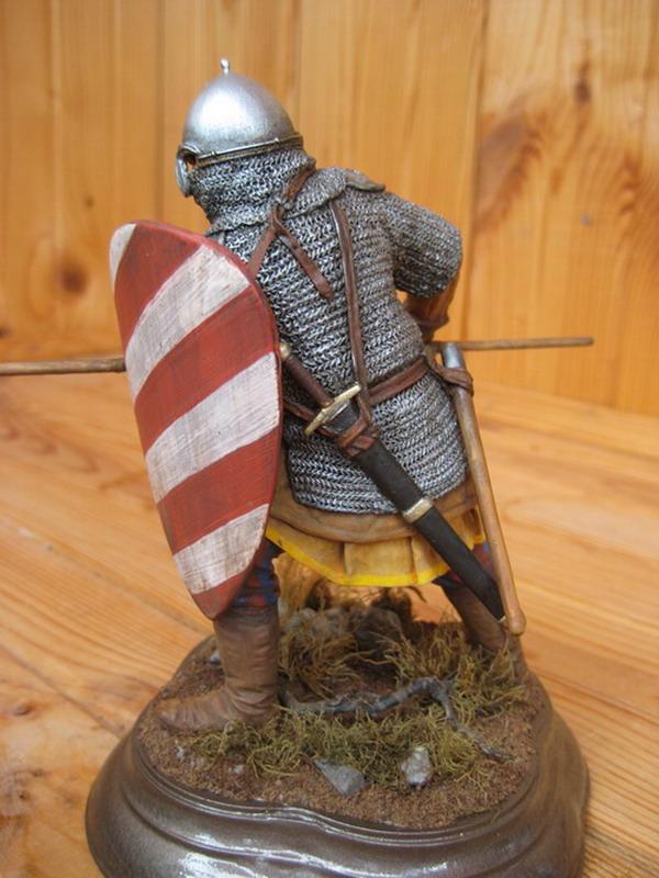 Figures: Russian warrior, XIII century, photo #2
