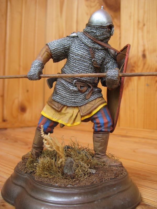 Figures: Russian warrior, XIII century, photo #6
