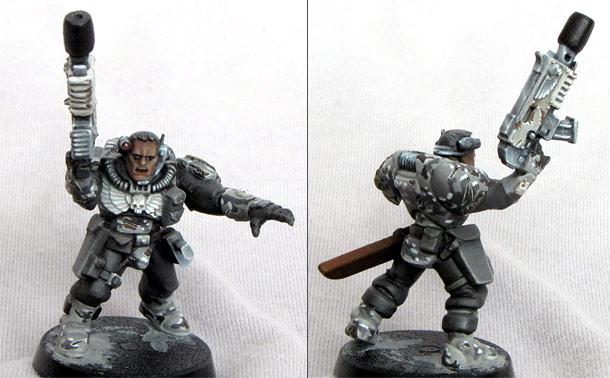 Miscellaneous: Commander of subversive platoon