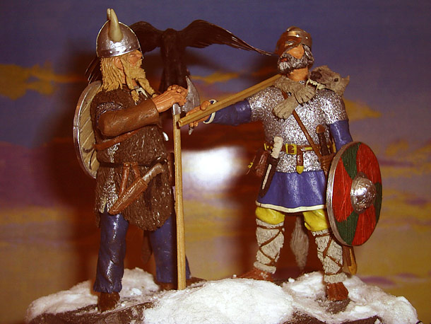 Sculpture: Vikings