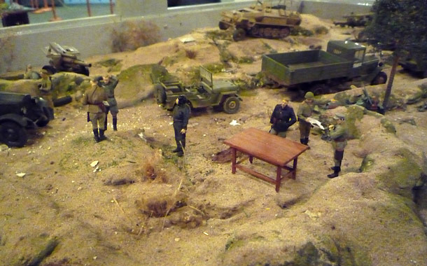 Dioramas and Vignettes: On the Wotan line. October 1943