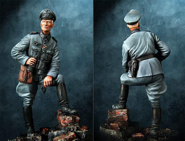 Figures: Wehrmacht officer. Germany, 1940-41