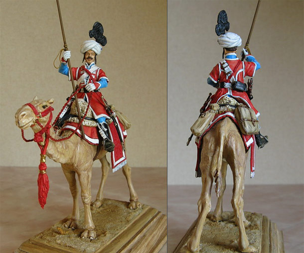 Figures: Private, Dromedaries regt.