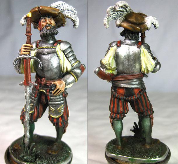 Figures: Landsknecht
