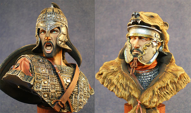 Figures: Hector and Roman signifer