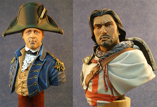 Figures: Lucky Jack and knight