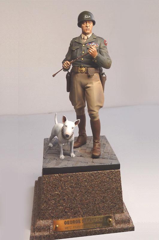 Figures: George S. Patton, photo #1