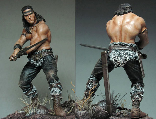 Figures: Conan the Cimmerian