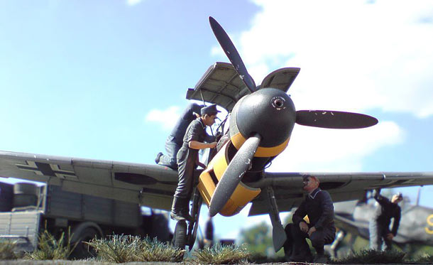 Dioramas and Vignettes: Legendary 109s