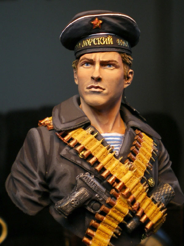 Figures: Soviet naval infantryman, photo #1
