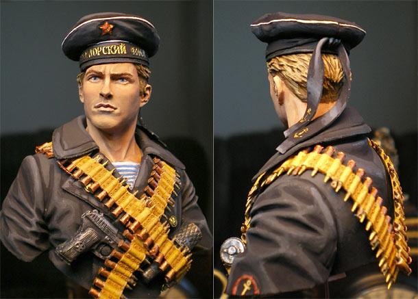 Figures: Soviet naval infantryman