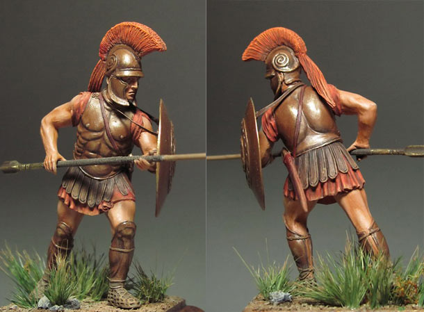 Figures: Macedonian phalangite