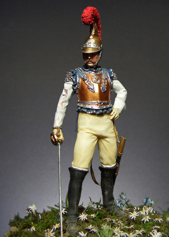 Figures: Carabiniers officer, France, 1812, photo #1