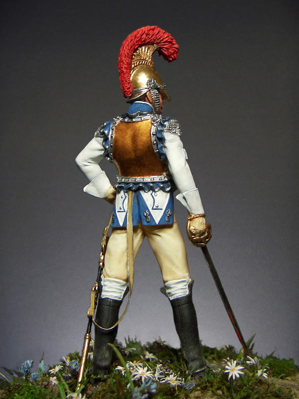 Figures: Carabiniers officer, France, 1812, photo #3