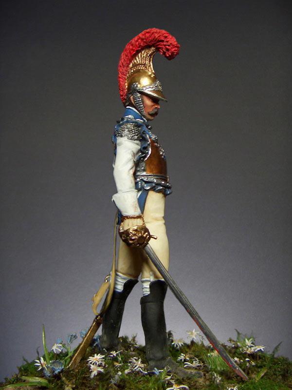 Figures: Carabiniers officer, France, 1812, photo #4