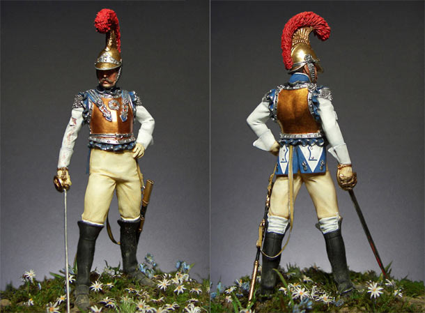 Figures: Carabiniers officer, France, 1812