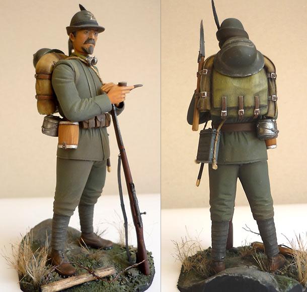 Figures: Italian Alpino, 1916