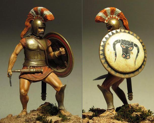 Figures: Hoplite, VI-V centuries B.C.
