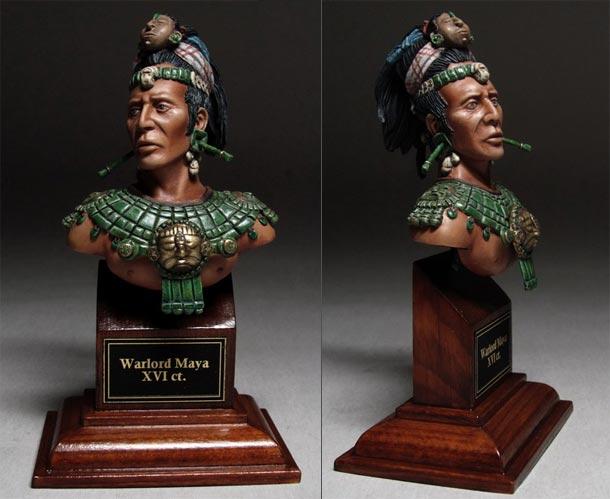 Figures: Maya chief, XV-XVI centuries