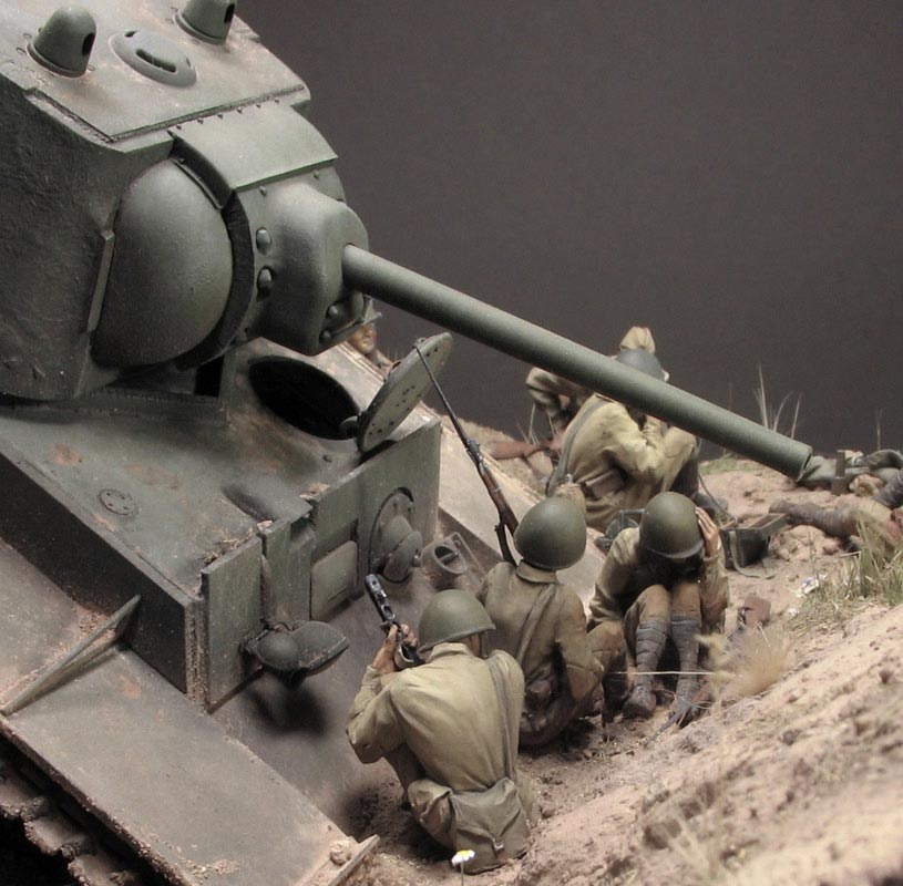 Dioramas and Vignettes: Gully in Don Steppe, photo #11