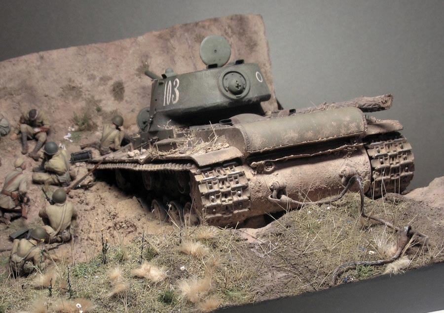 Dioramas and Vignettes: Gully in Don Steppe, photo #23