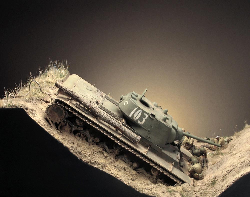Dioramas and Vignettes: Gully in Don Steppe, photo #6