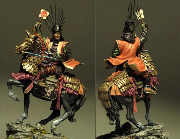 Figures:  Toyotomy Hideoshi