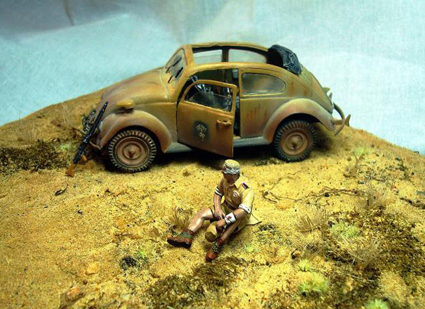 Dioramas and Vignettes: African Beetle
