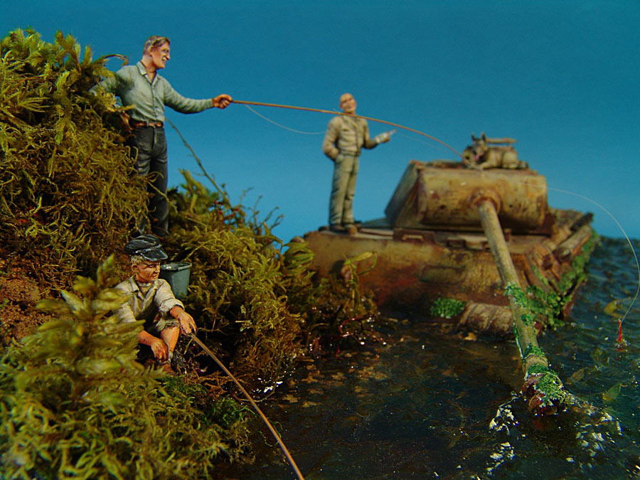 Dioramas and Vignettes: Fishy river, photo #10